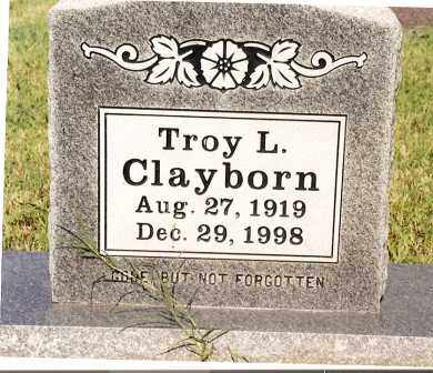 CLAYBORN, TROY L. - Johnson County, Arkansas | TROY L. CLAYBORN - Arkansas Gravestone Photos