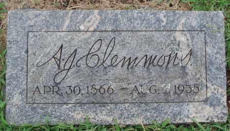 CLEMMONS, A. J. - Johnson County, Arkansas   A. J. CLEMMONS - Arkansas Gravestone Photos