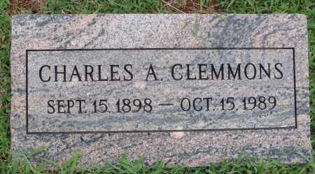 CLEMMONS, CHARLES A. - Johnson County, Arkansas   CHARLES A. CLEMMONS - Arkansas Gravestone Photos