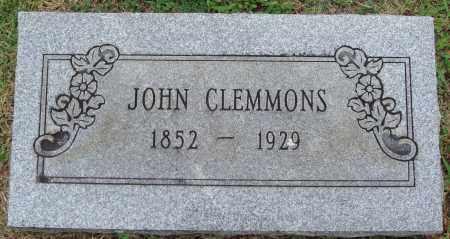 CLEMMONS, JOHN - Johnson County, Arkansas | JOHN CLEMMONS - Arkansas Gravestone Photos