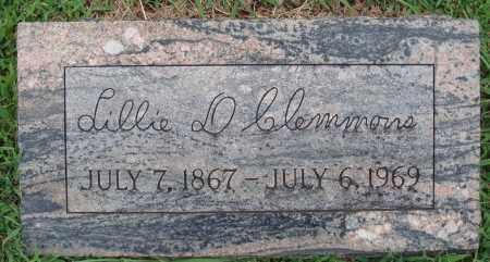 CLEMMONS, LILLIE D. - Johnson County, Arkansas | LILLIE D. CLEMMONS - Arkansas Gravestone Photos