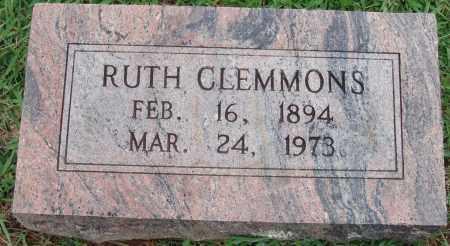 CLEMMONS, RUTH - Johnson County, Arkansas | RUTH CLEMMONS - Arkansas Gravestone Photos