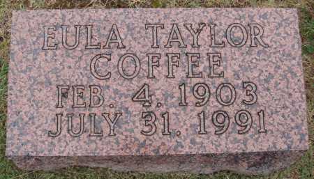 TAYLOR COFFEE, EULA - Johnson County, Arkansas | EULA TAYLOR COFFEE - Arkansas Gravestone Photos