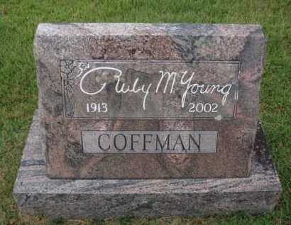 YOUNG COFFMAN, RUBY M. - Johnson County, Arkansas | RUBY M. YOUNG COFFMAN - Arkansas Gravestone Photos