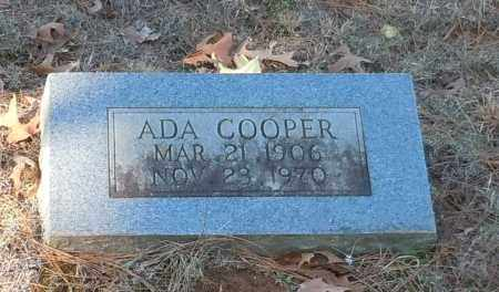 COOPER, ADA - Johnson County, Arkansas | ADA COOPER - Arkansas Gravestone Photos