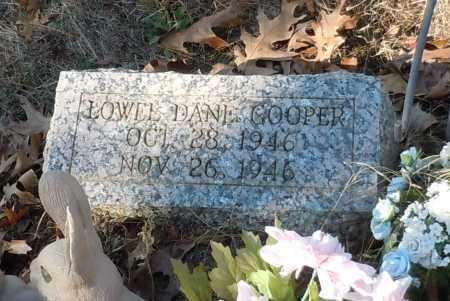 COOPER, LOWELL DANE - Johnson County, Arkansas | LOWELL DANE COOPER - Arkansas Gravestone Photos