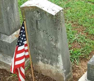 CROWLEY  (VETERAN CSA), WILLIAM - Johnson County, Arkansas   WILLIAM CROWLEY  (VETERAN CSA) - Arkansas Gravestone Photos