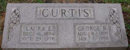 CURTIS, LAURA E. - Johnson County, Arkansas | LAURA E. CURTIS - Arkansas Gravestone Photos