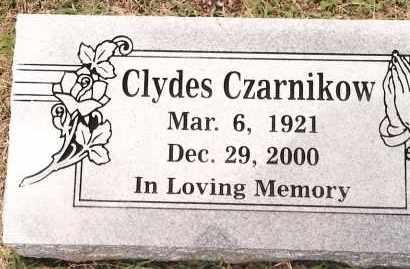 CZARNIKOW, CLYDES - Johnson County, Arkansas | CLYDES CZARNIKOW - Arkansas Gravestone Photos