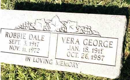 GEORGE, VERA - Johnson County, Arkansas   VERA GEORGE - Arkansas Gravestone Photos