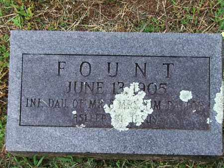 DALTON, FOUNT - Johnson County, Arkansas | FOUNT DALTON - Arkansas Gravestone Photos