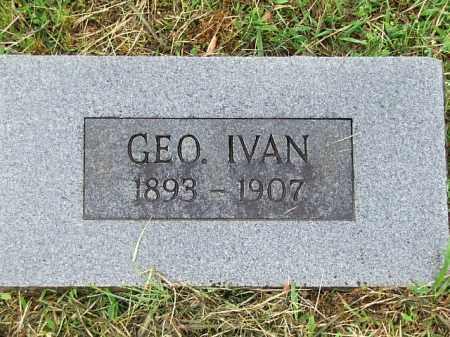 DALTON, GEORGE IVAN - Johnson County, Arkansas | GEORGE IVAN DALTON - Arkansas Gravestone Photos