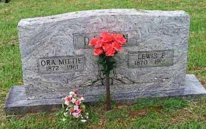 DALTON, ORA MITTI - Johnson County, Arkansas   ORA MITTI DALTON - Arkansas Gravestone Photos