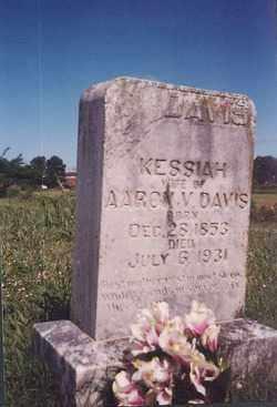 DAVIS, KESSIAH - Johnson County, Arkansas | KESSIAH DAVIS - Arkansas Gravestone Photos