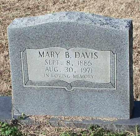 DAVIS, MARY B - Johnson County, Arkansas | MARY B DAVIS - Arkansas Gravestone Photos