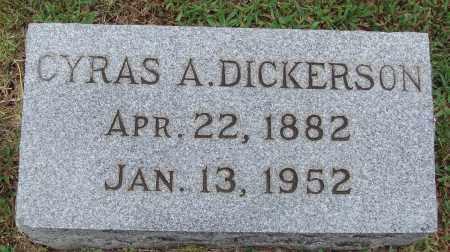 DICKERSON, CYRAS A. - Johnson County, Arkansas | CYRAS A. DICKERSON - Arkansas Gravestone Photos