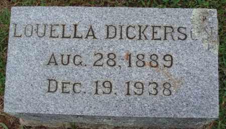 DICKERSON, LOUELLA - Johnson County, Arkansas | LOUELLA DICKERSON - Arkansas Gravestone Photos