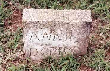 DOBBS, ANNIE - Johnson County, Arkansas | ANNIE DOBBS - Arkansas Gravestone Photos