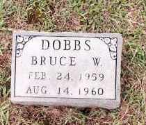 DOBBS, BRUCE W - Johnson County, Arkansas | BRUCE W DOBBS - Arkansas Gravestone Photos