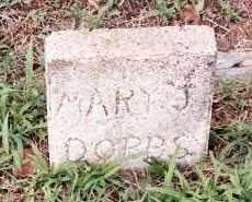DOBBS, MARY J. - Johnson County, Arkansas | MARY J. DOBBS - Arkansas Gravestone Photos