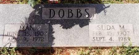 DOBBS, MAN - Johnson County, Arkansas   MAN DOBBS - Arkansas Gravestone Photos