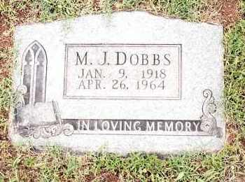 DOBBS, M  J - Johnson County, Arkansas | M  J DOBBS - Arkansas Gravestone Photos