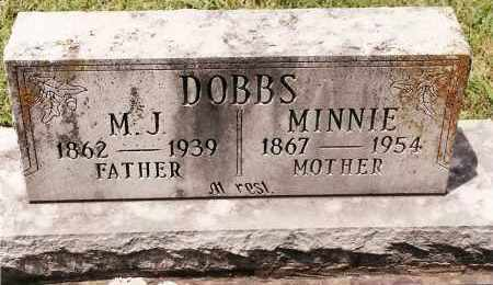 DOBBS, MINNIE - Johnson County, Arkansas   MINNIE DOBBS - Arkansas Gravestone Photos