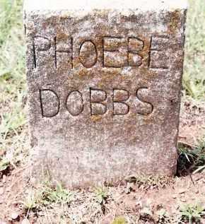 DOBBS, PHOEBE - Johnson County, Arkansas | PHOEBE DOBBS - Arkansas Gravestone Photos