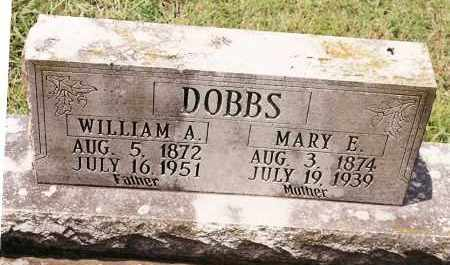 DOBBS, WILLIAM A. - Johnson County, Arkansas | WILLIAM A. DOBBS - Arkansas Gravestone Photos