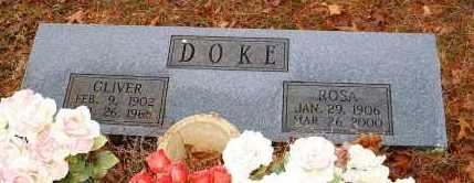 DOKE, OLIVER - Johnson County, Arkansas | OLIVER DOKE - Arkansas Gravestone Photos