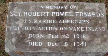 EDWARDS  (VETERAN WWII KIA), ROBERT POWELL - Johnson County, Arkansas   ROBERT POWELL EDWARDS  (VETERAN WWII KIA) - Arkansas Gravestone Photos