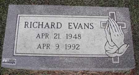 EVANS, RICHARD - Johnson County, Arkansas   RICHARD EVANS - Arkansas Gravestone Photos
