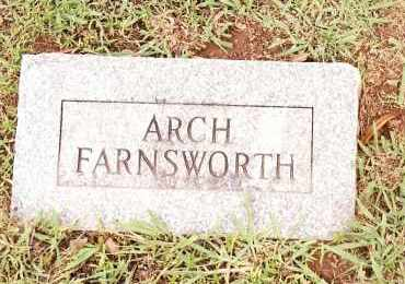 FARNSWORTH, ARCH - Johnson County, Arkansas | ARCH FARNSWORTH - Arkansas Gravestone Photos