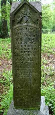 FLEMING, JOHN H. - Johnson County, Arkansas | JOHN H. FLEMING - Arkansas Gravestone Photos