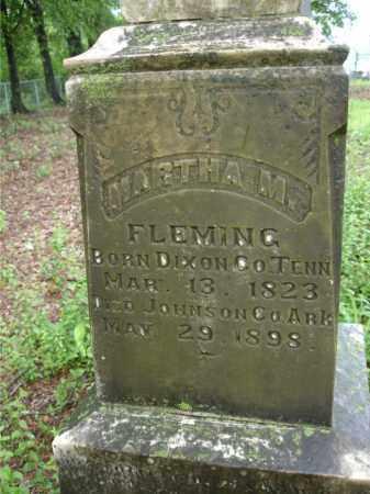 SHROPSHIRE FLEMING, MARTHA M. - Johnson County, Arkansas | MARTHA M. SHROPSHIRE FLEMING - Arkansas Gravestone Photos