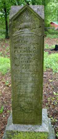 FLEMING, WILLIE H. - Johnson County, Arkansas | WILLIE H. FLEMING - Arkansas Gravestone Photos