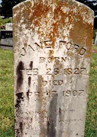 FORD, JUNE - Johnson County, Arkansas   JUNE FORD - Arkansas Gravestone Photos