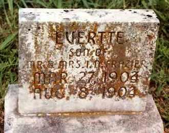 FRAZIER, EVERTTE - Johnson County, Arkansas   EVERTTE FRAZIER - Arkansas Gravestone Photos