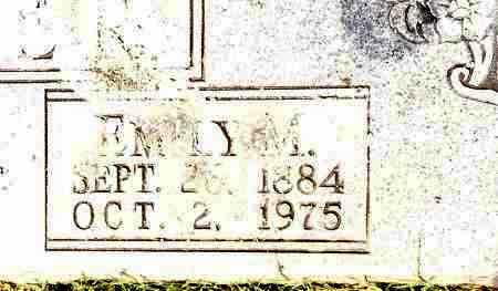 FRAZIER, EMILY M - Johnson County, Arkansas | EMILY M FRAZIER - Arkansas Gravestone Photos