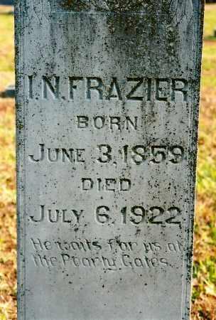 FRAZIER, I N - Johnson County, Arkansas | I N FRAZIER - Arkansas Gravestone Photos