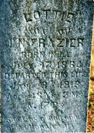FRAZIER, LOTTIE - Johnson County, Arkansas   LOTTIE FRAZIER - Arkansas Gravestone Photos