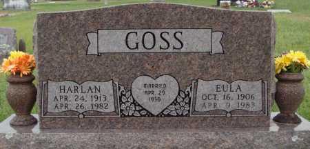 GOSS, EULA - Johnson County, Arkansas | EULA GOSS - Arkansas Gravestone Photos