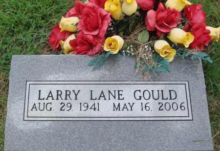 GOULD, LARRY LANE - Johnson County, Arkansas   LARRY LANE GOULD - Arkansas Gravestone Photos