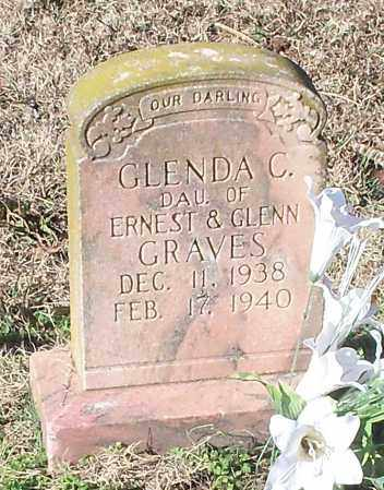 GRAVES, GLENDA C - Johnson County, Arkansas | GLENDA C GRAVES - Arkansas Gravestone Photos