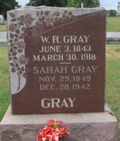 GRAY, SARAH - Johnson County, Arkansas | SARAH GRAY - Arkansas Gravestone Photos