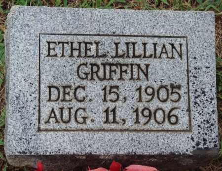 GRIFFIN, ETHEL LILLIAN - Johnson County, Arkansas | ETHEL LILLIAN GRIFFIN - Arkansas Gravestone Photos