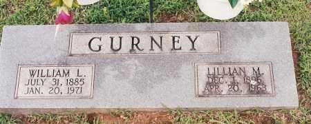 GURNEY, LILLIAN M - Johnson County, Arkansas | LILLIAN M GURNEY - Arkansas Gravestone Photos