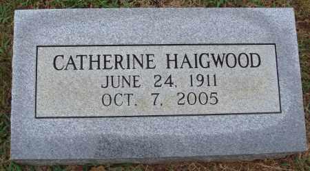 HAIGWOOD, CATHERINE - Johnson County, Arkansas | CATHERINE HAIGWOOD - Arkansas Gravestone Photos