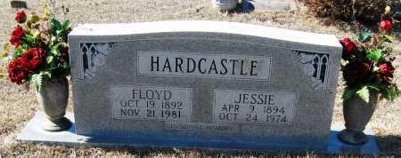 HARDCASTLE, JESSIE - Johnson County, Arkansas | JESSIE HARDCASTLE - Arkansas Gravestone Photos