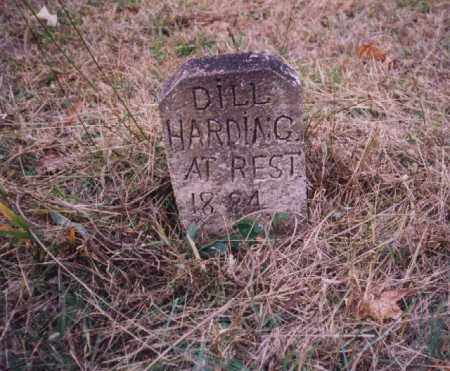 HARDING, DILL - Johnson County, Arkansas | DILL HARDING - Arkansas Gravestone Photos